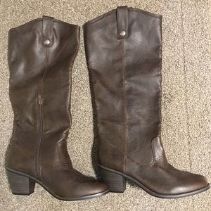 Xhilaration Brown Boots Size 8
